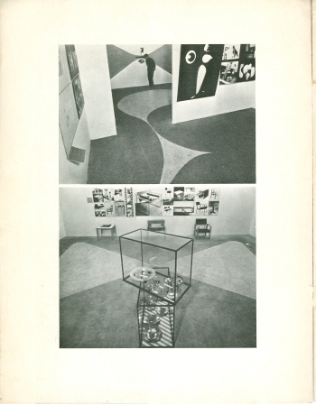 MoMA Bauhaus Exhibition Bulletin by Herbert Bayer, 1938 View Five (Click for a larger image on Flickr)