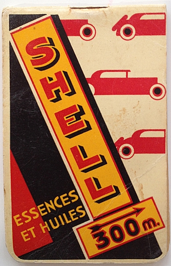 Shell Essences et Huiles circa 1932. Front Cover