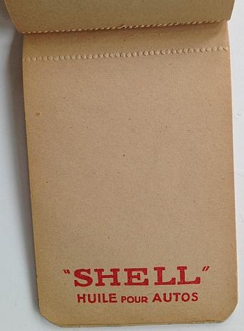 Shell Essences et Huiles circa 1932. Inside View One