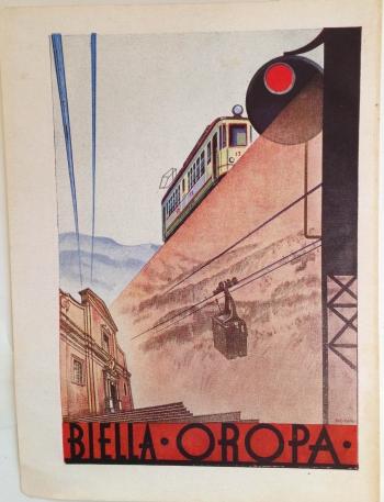 "Ad, ""Bells Oropa,"" circa 1934. Signed ""SIG"""