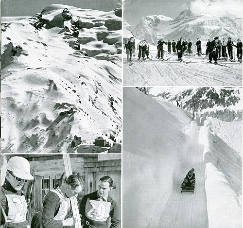 Engelberg - Trübsee, by Herbert Matter, 1934, Back Cover
