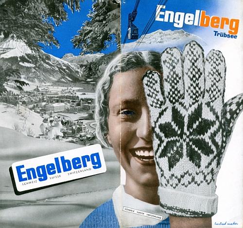 Engelberg - Trübsee, by Herbert Matter, 1934, Front Cover