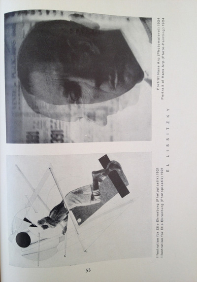 El Lissitzky article from the December 1928 issue of Gebrauchsgraphik, View Five