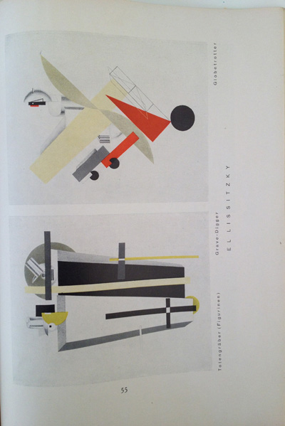 El Lissitzky article from the December 1928 issue of Gebrauchsgraphik, View Seven
