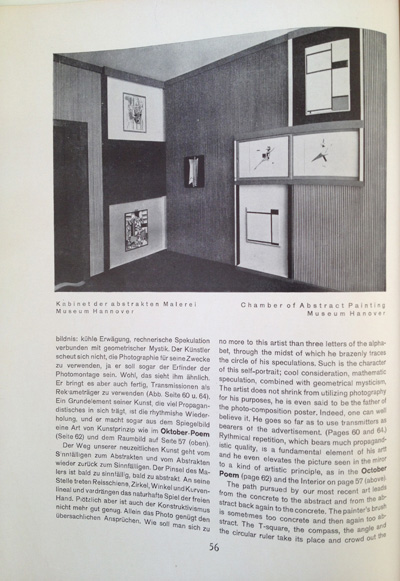 El Lissitzky article from the December 1928 issue of Gebrauchsgraphik, View Eight