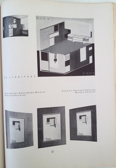 El Lissitzky article from the December 1928 issue of Gebrauchsgraphik, View Nine