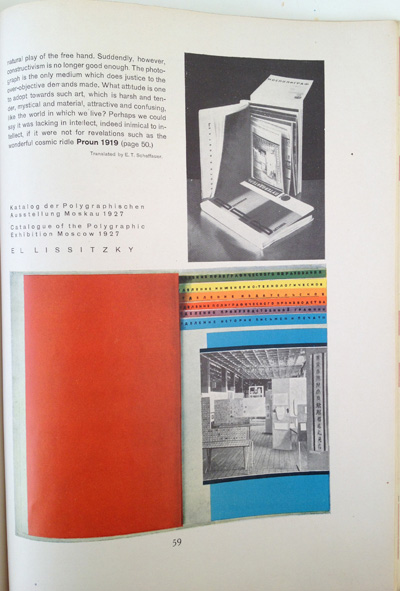 El Lissitzky article from the December 1928 issue of Gebrauchsgraphik, View Eleven
