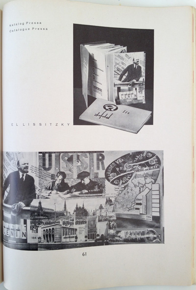 El Lissitzky article from the December 1928 issue of Gebrauchsgraphik, View Thirteen