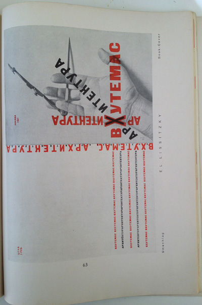 El Lissitzky article from the December 1928 issue of Gebrauchsgraphik, View Fifteen