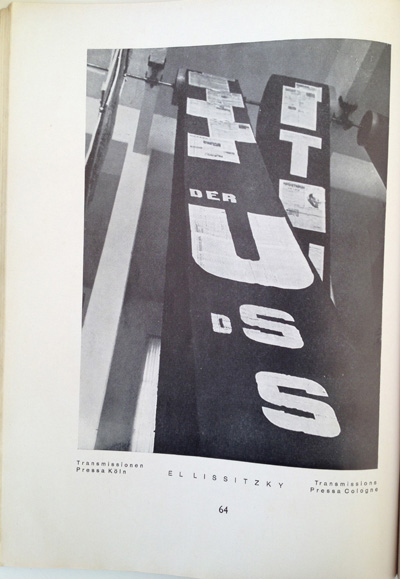 El Lissitzky article from the December 1928 issue of Gebrauchsgraphik, View Sixteen