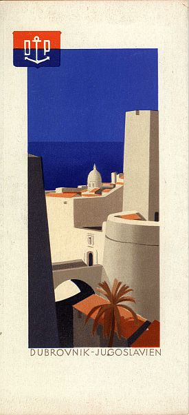 Hans Wagula: Dalmatian Cruises Brochure, 1936, Cover View Four