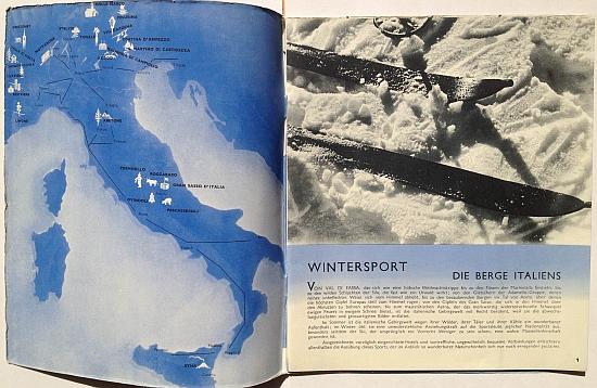 Wintersport in Italien, 1935, Inside View