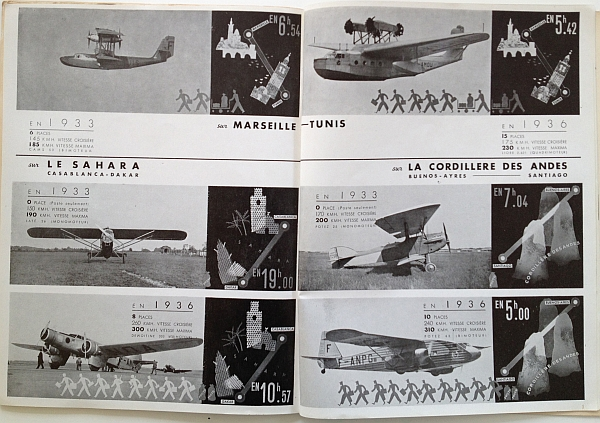 Air France Magazine Hiver (Winter) 1936 / 37 Article showcasing Air France lines View  Two