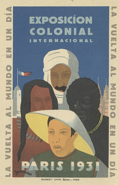 Postcard for Exposicion Colonial Internacional Paris 1931 (Spanish Version)
