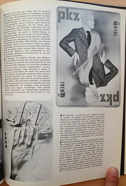 Herbert Matter Article from 15 February 1936 issue of Arts et Métiers Graphiques No. 51, Page 4