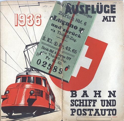 Schweizerische Bundesbahnen, Front Cover