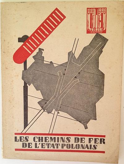 Booklet: Les Chemins de Fer de l'Etat Polonais, 1935. Cover