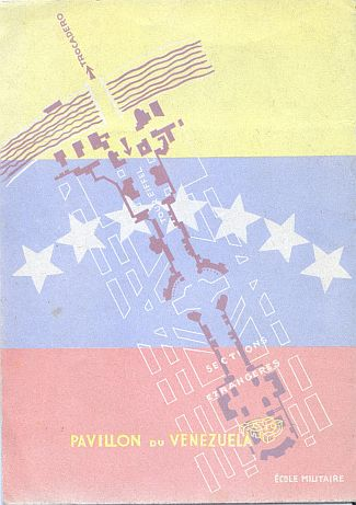 Brochure - Paris Exposition 1937 Venezuela - Back