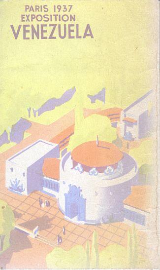Brochure - Paris Exposition 1937 Venezuela - Front
