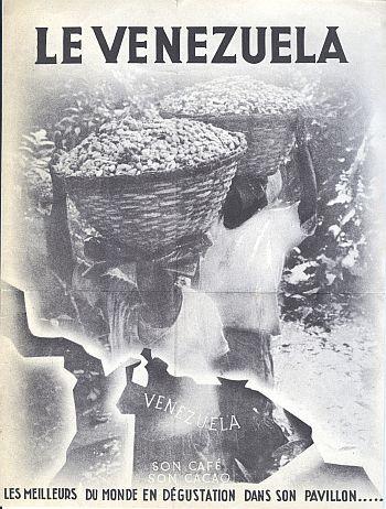 Brochure - Paris Exposition 1937 Venezuela - Inside View Two
