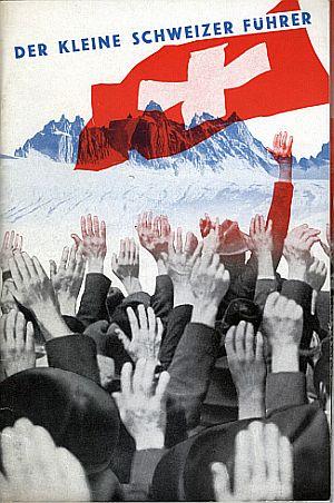 Der Kleine Schweizer Führer, 1935. Front cover photomontage by Herbert Matter