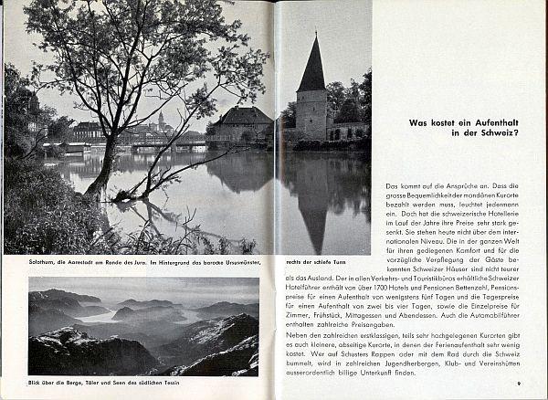 Der Kleine Schweizer Führer, 1935. Inside View Five