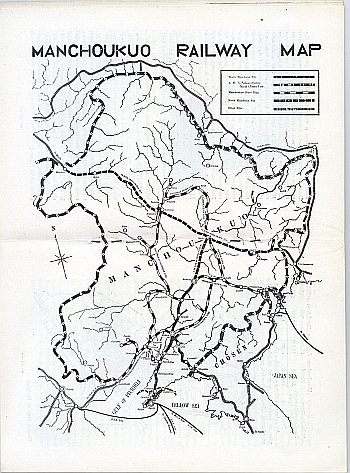 Guide to Manchoukuo, 1934 from the South Manchuria Railway, Inside View Five ??